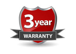 3 Year Warranty On Our Own Security Cameras, DVRs and NVRs