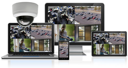 View HD Security Cameras on Your Smartphone Tablet or PC